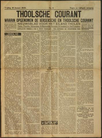 Ierseksche en Thoolsche Courant 1942