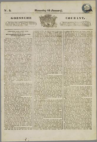 Goessche Courant 1849-01-15