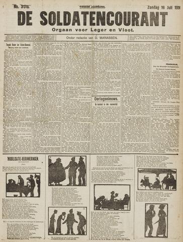 De Soldatencourant. Orgaan voor Leger en Vloot 1916-07-16