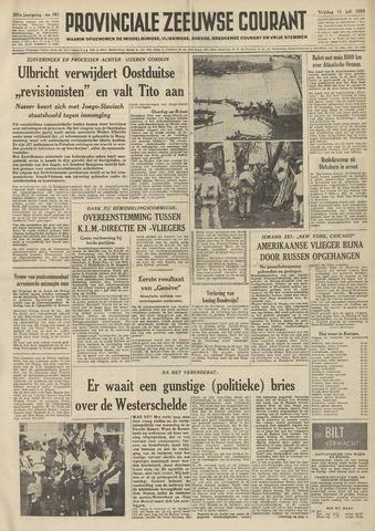 Provinciale Zeeuwse Courant 1958-07-11