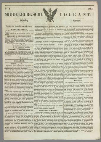 Middelburgsche Courant 1865-01-03