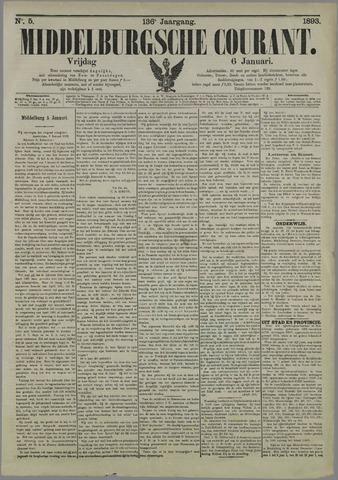 Middelburgsche Courant 1893-01-06
