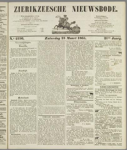 Zierikzeesche Nieuwsbode 1865-03-18