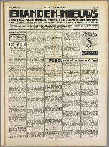 Eilanden-nieuws. Christelijk streekblad op gereformeerde grondslag 1938-04-16