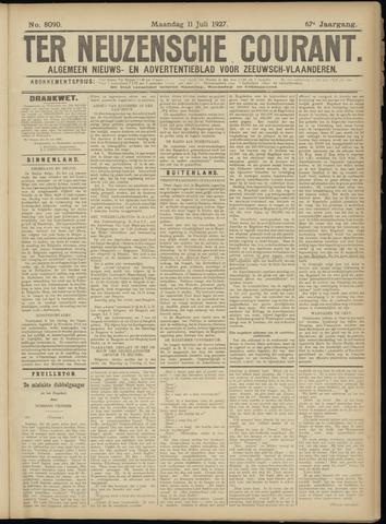 Ter Neuzensche Courant. Algemeen Nieuws- en Advertentieblad voor Zeeuwsch-Vlaanderen / Neuzensche Courant ... (idem) / (Algemeen) nieuws en advertentieblad voor Zeeuwsch-Vlaanderen 1927-07-11
