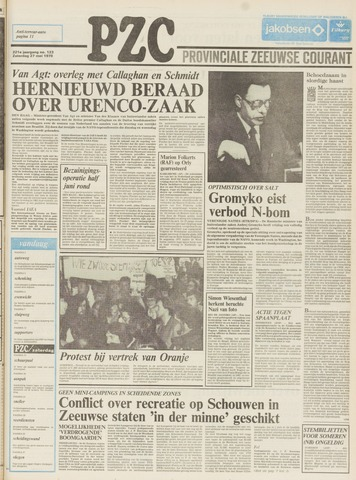Provinciale Zeeuwse Courant 1978-05-27