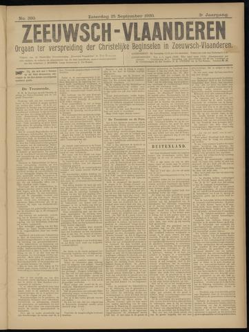 Luctor et Emergo. Antirevolutionair nieuws- en advertentieblad voor Zeeland / Zeeuwsch-Vlaanderen. Orgaan ter verspreiding van de christelijke beginselen in Zeeuwsch-Vlaanderen 1920-09-25