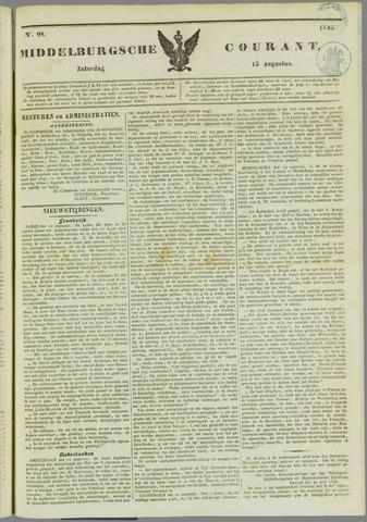 Middelburgsche Courant 1846-08-15