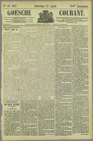 Goessche Courant 1917-04-14