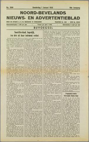 Noord-Bevelands Nieuws- en advertentieblad 1953