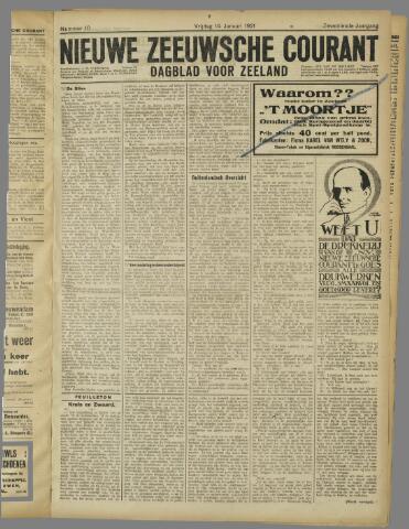 Nieuwe Zeeuwsche Courant 1921-01-14