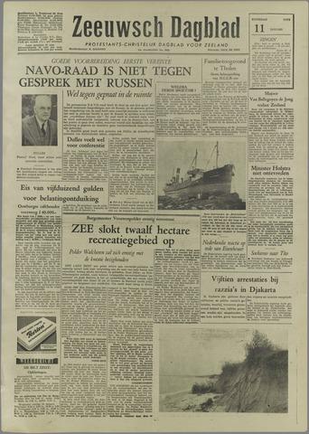 Zeeuwsch Dagblad 1958-01-11