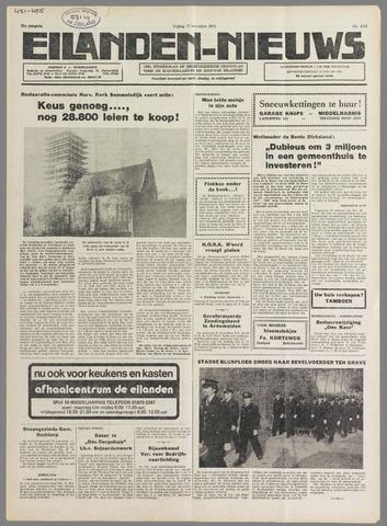 Eilanden-nieuws. Christelijk streekblad op gereformeerde grondslag 1978-11-17