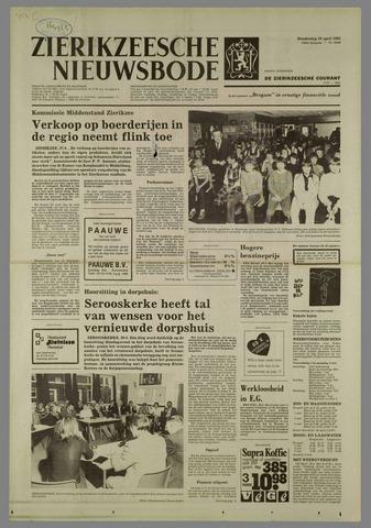 Zierikzeesche Nieuwsbode 1982-04-29