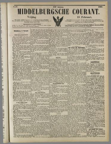 Middelburgsche Courant 1903-02-13