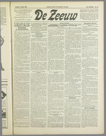 De Zeeuw. Christelijk-historisch nieuwsblad voor Zeeland 1934-03-09