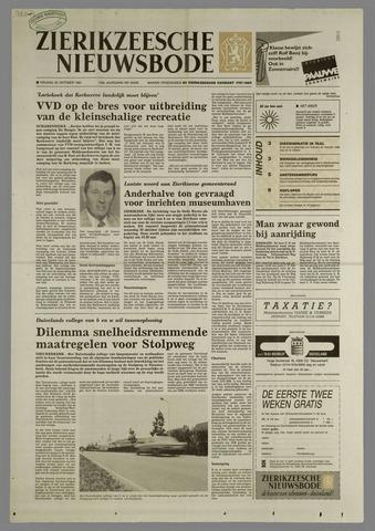 Zierikzeesche Nieuwsbode 1991-10-25