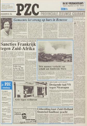 Provinciale Zeeuwse Courant 1985-07-25