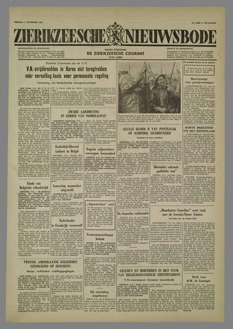 Zierikzeesche Nieuwsbode 1958-11-07