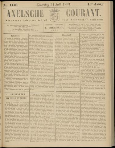 Axelsche Courant 1897-07-31