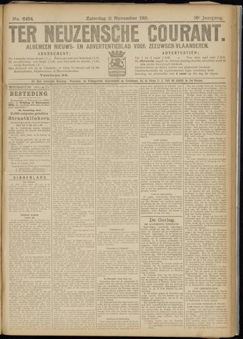 Ter Neuzensche Courant. Algemeen Nieuws- en Advertentieblad voor Zeeuwsch-Vlaanderen / Neuzensche Courant ... (idem) / (Algemeen) nieuws en advertentieblad voor Zeeuwsch-Vlaanderen 1916-11-11