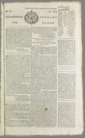 Zierikzeesche Courant 1814-02-04