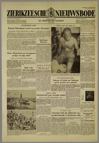 Zierikzeesche Nieuwsbode 1962-02-22