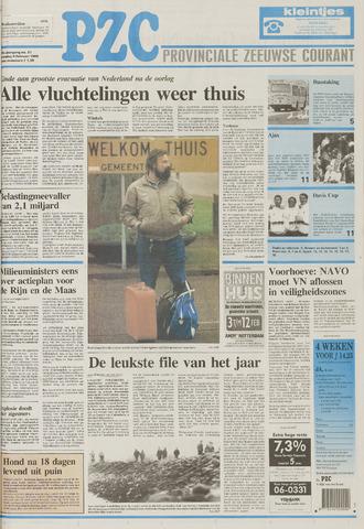 Provinciale Zeeuwse Courant 1995-02-06