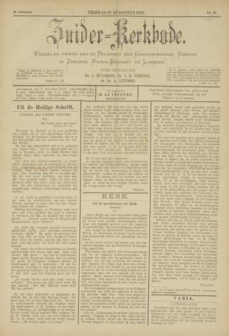 Zuider Kerkbode, Weekblad gewijd aan de belangen der gereformeerde kerken in Zeeland, Noord-Brabant en Limburg. 1897-08-27