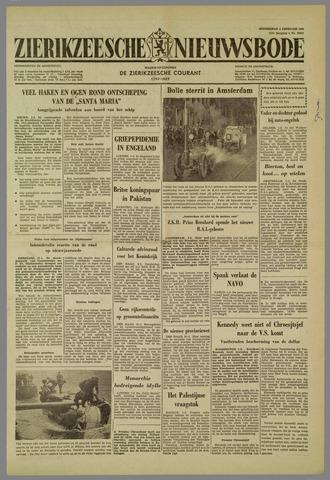 Zierikzeesche Nieuwsbode 1961 Krantenbank Zeeland
