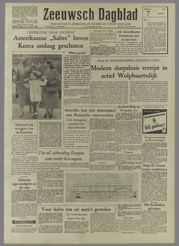 Zeeuwsch Dagblad 1958-03-07