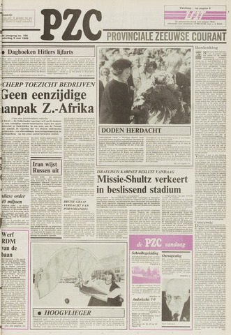 Provinciale Zeeuwse Courant 1983-05-05