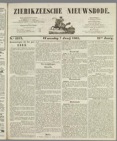 Zierikzeesche Nieuwsbode 1865-06-07