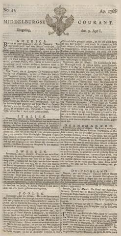 Middelburgsche Courant 1768-04-05