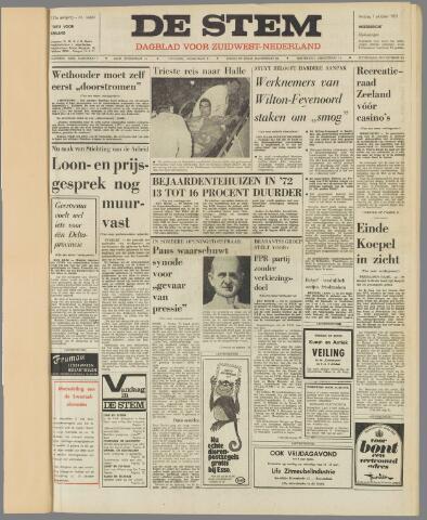 de Stem 1971-10-01