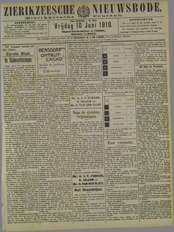 Zierikzeesche Nieuwsbode 1910-06-10