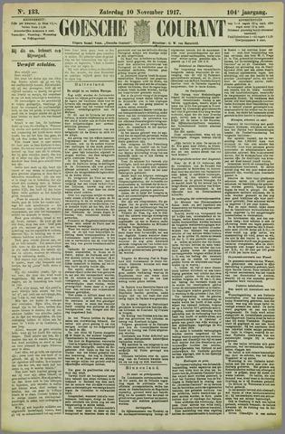 Goessche Courant 1917-11-10