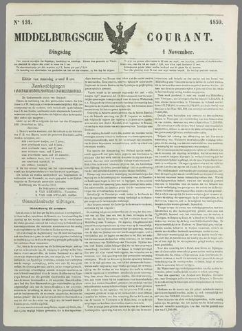 Middelburgsche Courant 1859-11-01