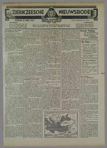 Zierikzeesche Nieuwsbode 1941-04-08