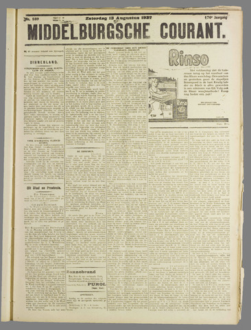 Middelburgsche Courant 1927-08-13