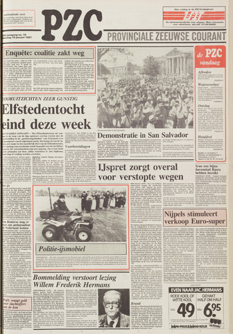 Provinciale Zeeuwse Courant 1987-01-19