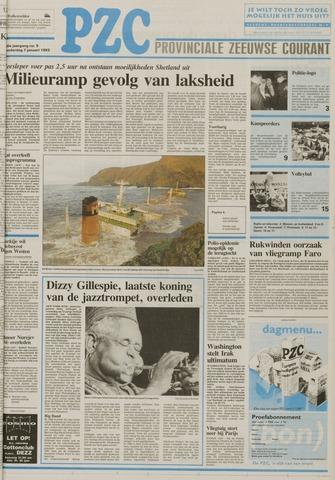Provinciale Zeeuwse Courant 1993-01-07