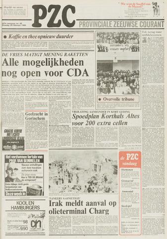 Provinciale Zeeuwse Courant 1984-02-28