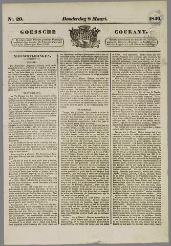 Goessche Courant 1849-03-08
