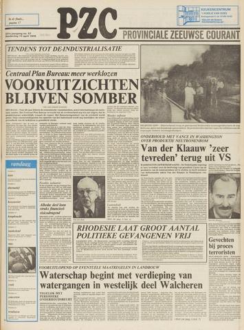 Provinciale Zeeuwse Courant 1978-04-13
