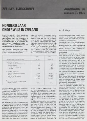 Zeeuws Tijdschrift 1976-11-01
