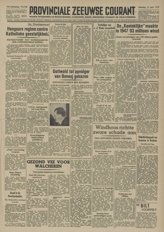 Provinciale Zeeuwse Courant 1948-06-15