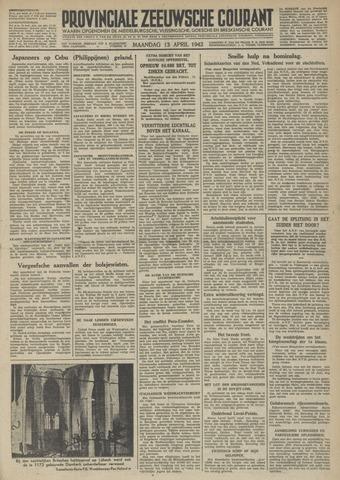 Provinciale Zeeuwse Courant 1942-04-13