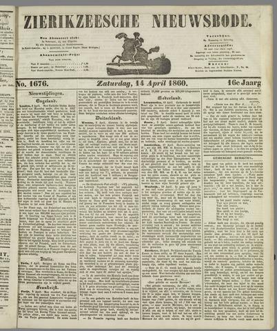 Zierikzeesche Nieuwsbode 1860-04-14