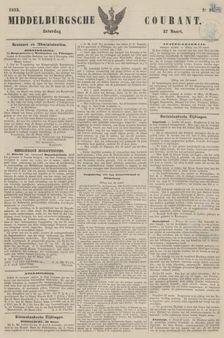 Middelburgsche Courant 1852-03-27